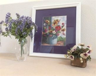 Floral Picture Needlepoint