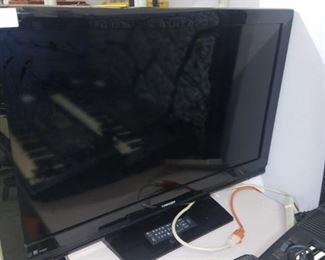 """40"""" flat screen TV"""
