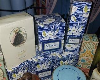Vintage perfumes