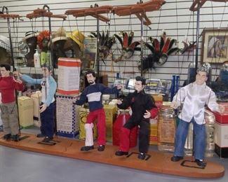 NSYNC marionettes