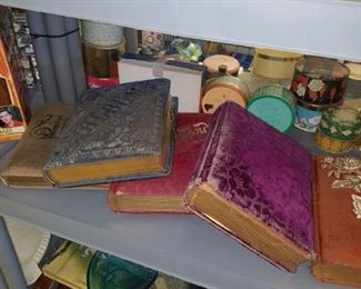 Victorian picture albums