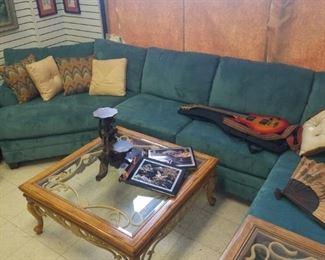 Bassett sectional couch