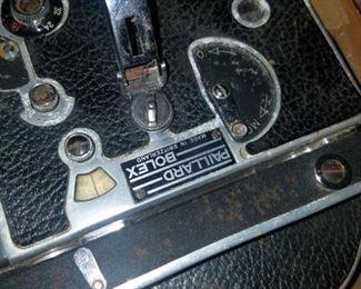 Paillard Bolex movie camera