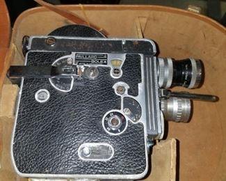 Paillard Bolex 16mm movie camera