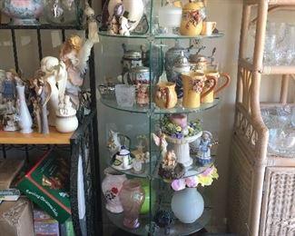 Figurines, Vases, Lamps, Christmas Decor