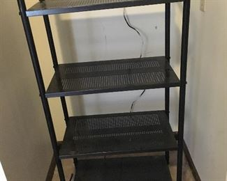 lightweight metal shelving