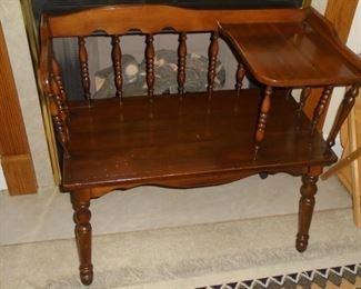 Mid century telephone table/seat