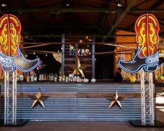 4 Sided Western Bar
