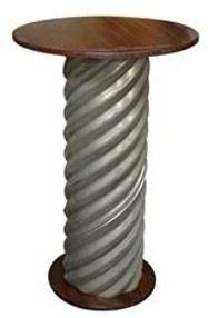 Corrugated Metal Highboy