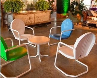 Patio furniture and bars