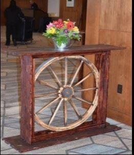 Wagon Wheel Highboy