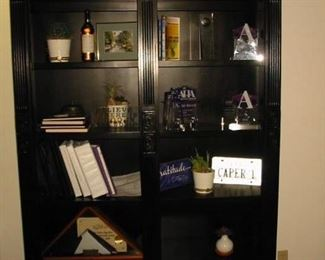 large wooden shelving unit (several styles)