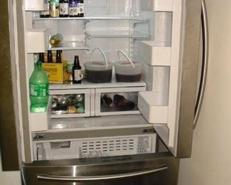 beautiful refrigerator
