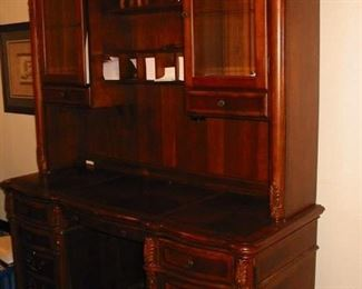 beautiful desk with hutch
