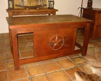 Texas style desk