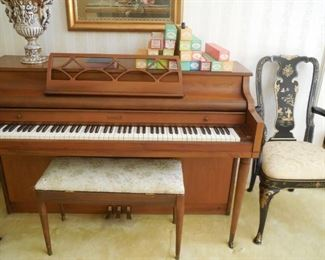 Kimball Player Piano.  Needs some repair but plays beautifully as just a piano