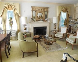 Living room view, how elegant