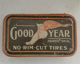 Good Year Tires Tin