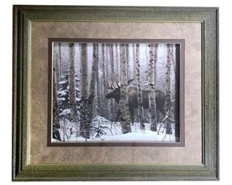 "Lot 003  ""A Walk In The Woods"" by Stephen Lyman, Print"