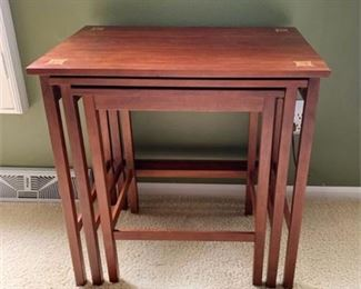 Lot 004  Stickley Harvey Ellis Nesting Tables