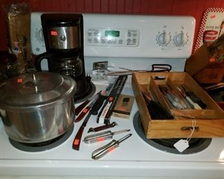 Cooking and cutting utensils
