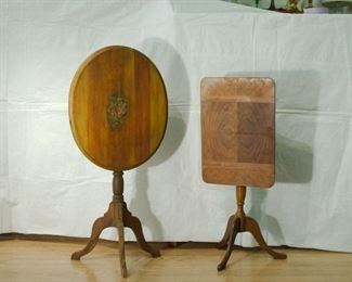 Two Folding Side Tables - Sold Separately