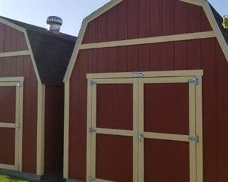 2 Like brand new Barn Style sheds