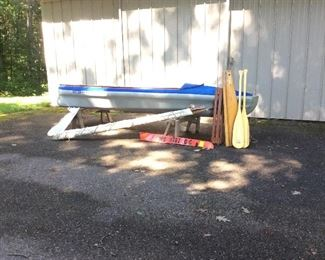 Klepper Master 12ft boat. One owner purchased in 1963 with original sales receipt available. Very good condition, very rare boat