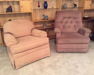 Recliner and occasional chair