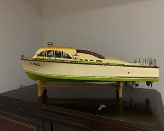 This vintage boat is only $75. Plus tax