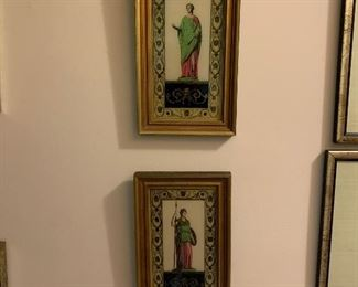 This pair of framed Greek figures are only $50 plus tax
