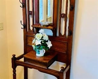 This antique entry tree hall is only $300 plus tax