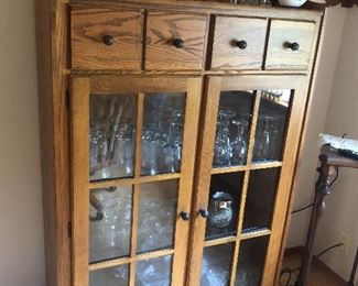 China cabinet, not sure how old.