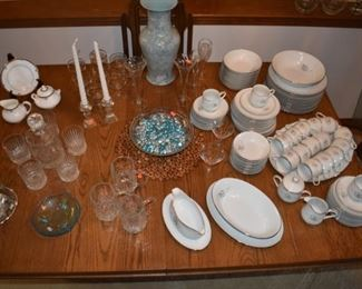 Sango China and Glassware