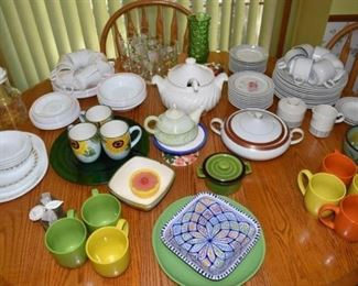Corning Dishes Bowls Plates Cups Covered Dishes
