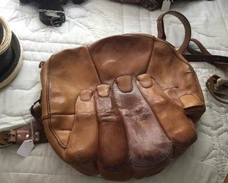 Purse made by a saddle maker