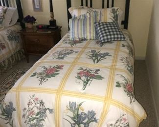 2 - TWIN SIZE BEDS