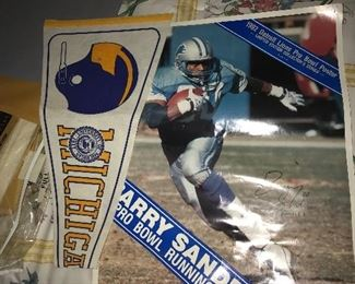 DETROIT LIONS AND MICHIGAN WOLVERINES FAN GEAR