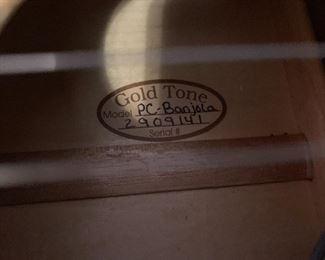 GOLD TONE PAT CLOUD PC - BANJOLA