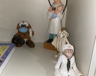 DOCTOR / PHYSICIAN FIGURINES