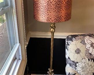 ANIMAL PRINT FLOOR LAMP