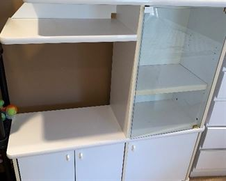FORMICA GLASS CABINET