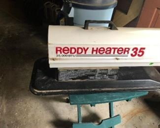 Reddy heater, 35K BTU