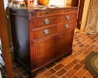Drexel  Buffet cabinet  with tray