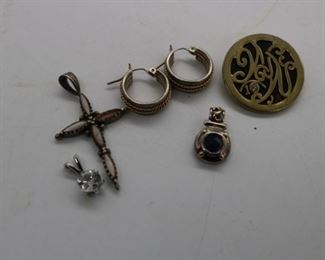 Sterling Silver & Gold Jewelry