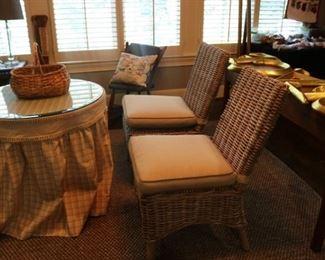 4 Ratan Chairs