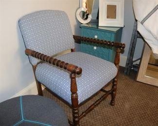 Antique Twist Arm Chair