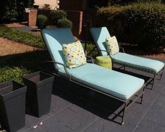 Restoration Hardware  Outdoor Lounge Chairs
