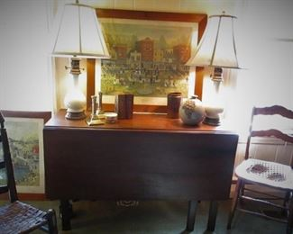 Antique Gate Leg Table