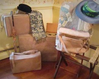 Vintage Hartman Suede Luggage